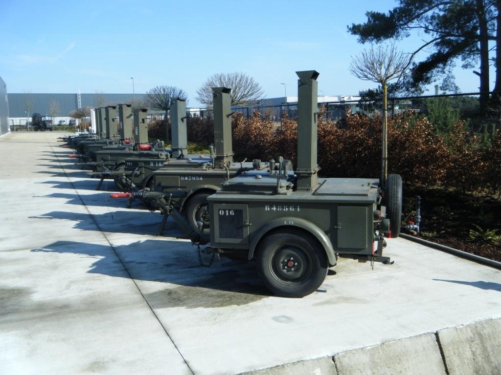 Polynorm Aanhangwagens Bij Defensie Sleutel Spoor